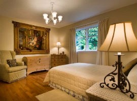 French tapestry - home decor in bedroom