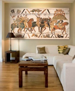 The Bayeux Tapestry - medieval wall-hanging tapestries