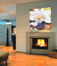 Contemporary floral tapestries for modern home decor