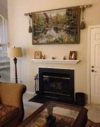 Monet's Garden Belgian tapestry in home decor