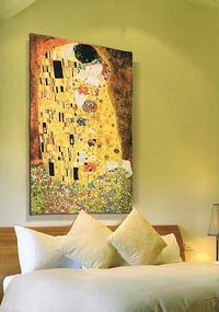 The Kiss - Gustav Klimt tapestry wall-hanging