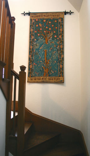 The Woodpecker tapestry - William Morris wall tapestries