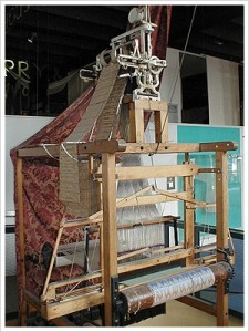 Jacquard loom - weaving tapestries