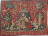 A Mon Seul Desir wall tapestry - Lady with the Unicorn tapestries