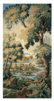 Forest of Clairmarais tapestry - French wall verdure