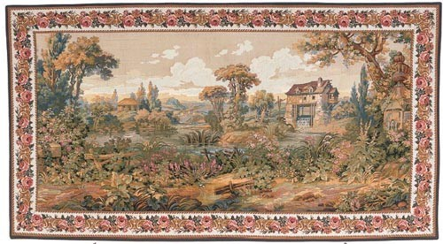 Verdure Mill tapestry - on sale at a special price