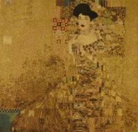 Adele Bloch-Bauer tapestry - Gustav Klimt portrait - Art Nouveau