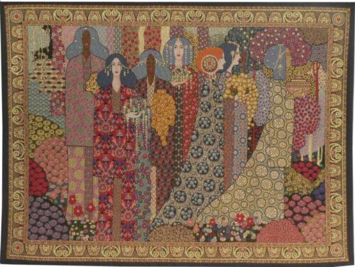 Aladdin tapestry - Vittorio Zecchin - Art Nouveau tapestries