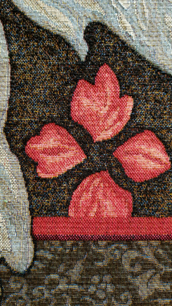 Dark Althea portiere tapestry wall-hanging