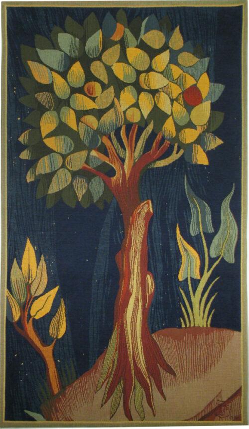 Apocalypse Tapestry Fruit Tree - 14th century medieval tapestries