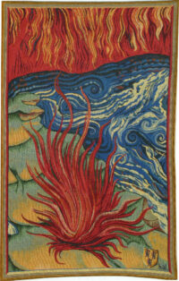 Apocalypse Tapestry Fire - Nicolas Bataille tapestries