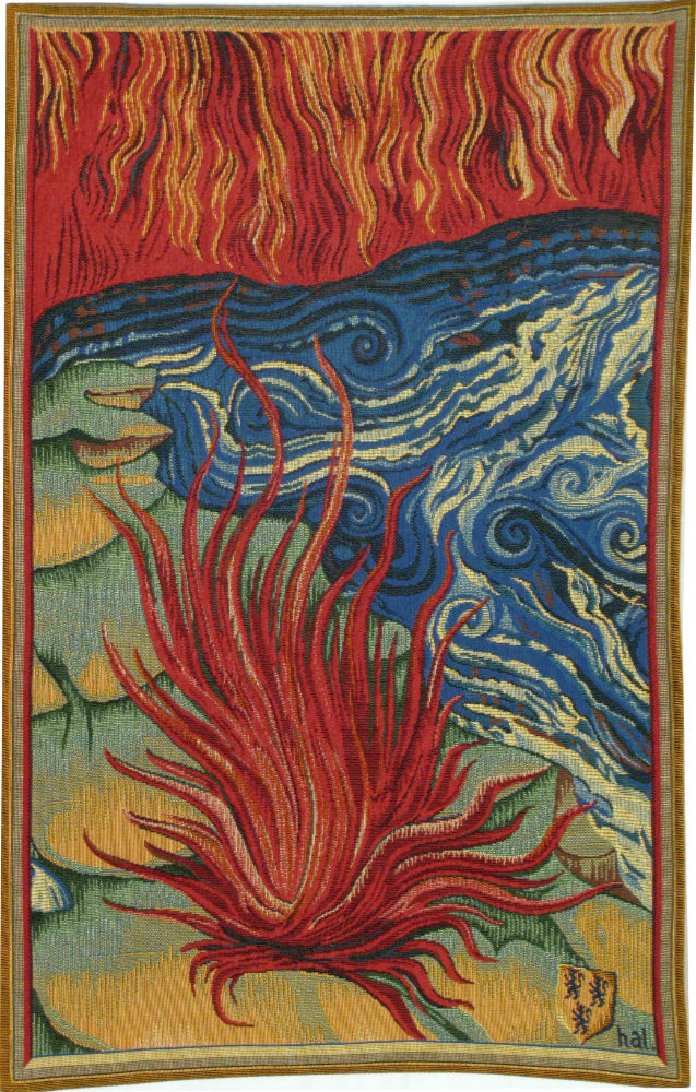 Apocalypse Tapestry Fire - Nicolas Bataille tapestries