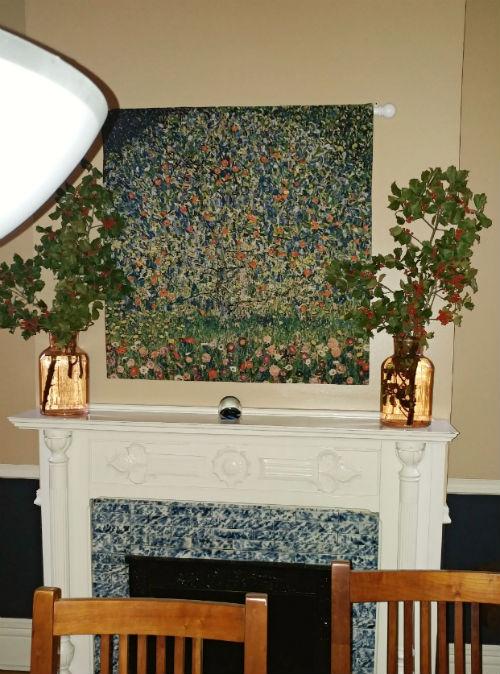 Apple Tree 1 Gustav Klimt tapestry hanging