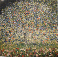 Apple Tree tapestry - from a painting by Gustav Klimt