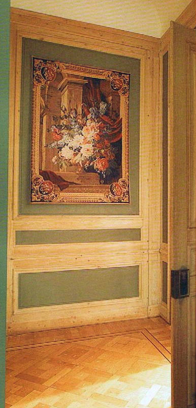 Baroque Bouquet Tapestry Architectural Wall Tapestries