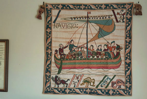 Bayeux Tapestry Navigio wallhanging