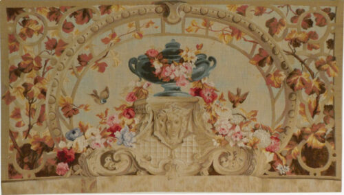 Beauvais, Autumn tapestry - French tapestry wallhanging on sale
