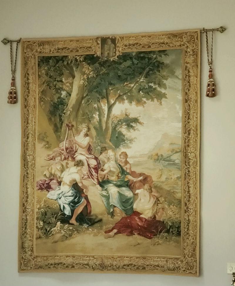 Bernard van Orley wall tapestries