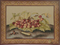 Bowl of Cherries - French tapestry wallhanging