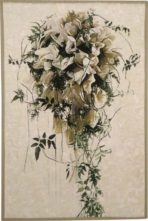 Brides Bouquet tapestry - Belgian wall tapestries art