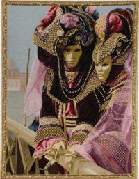 Carnival of Venice tapestry - Venetian wall tapestry