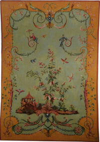 Chinoiseries tapestry - 18th century French tapestry