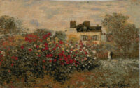 Claude Monets House tapestry - Argenteuil - Giverny