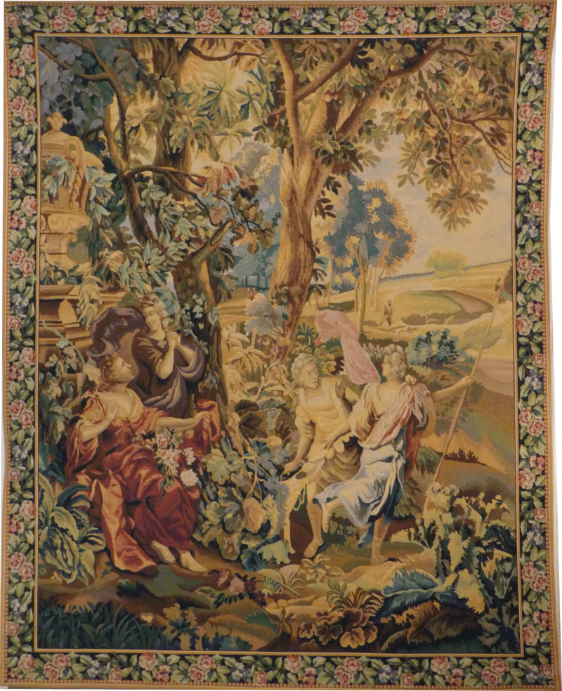 Country Scene tapestry - Francois Boucher wall tapestries