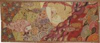 Danae tapestry - Gustav Klimt wall tapestries - Art Nouveau