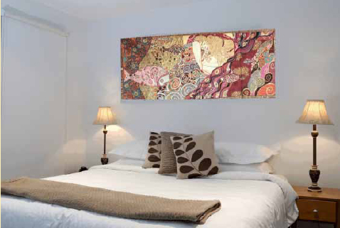 Danae tapestry by Gustav Klimt