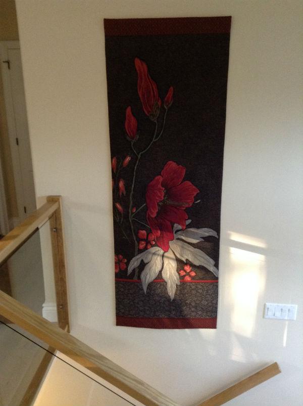 Dark Althea portiere tapestry