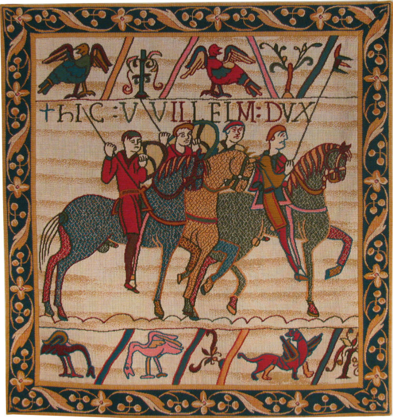 The Bayeux Tapestry horses - William the Conqueror