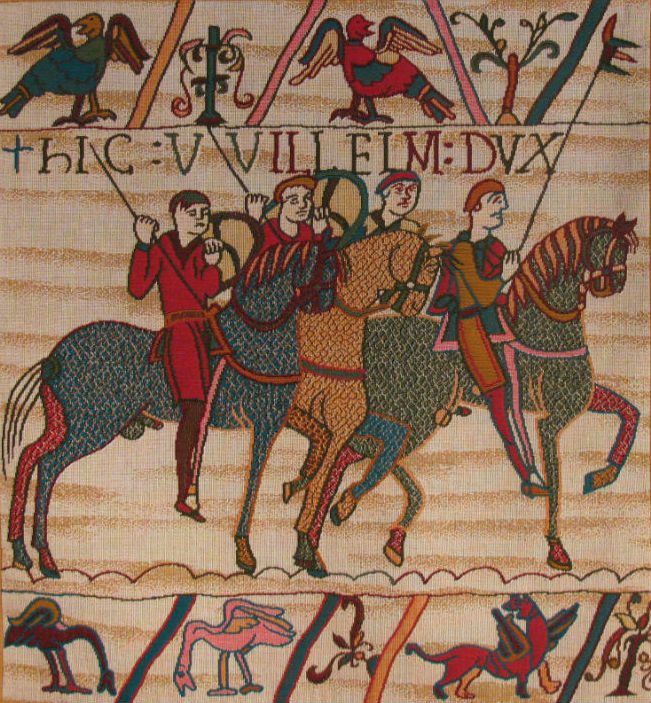 Bayeux Tapestry Cavalry Battle Of Hastings Tapestries