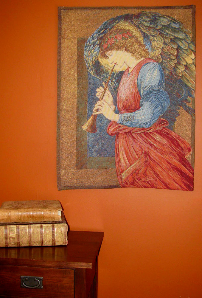 Edward Burne-Jones - An Angel tapestry