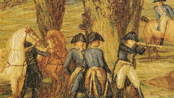 Emperor Napoleon hunting tapestry