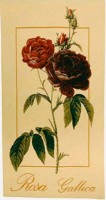 Rosa Gallica tapestry - French floral tapestries