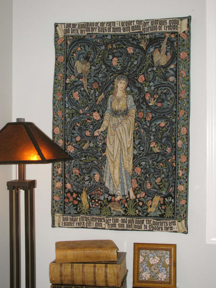 Flora tapestry by William Morris