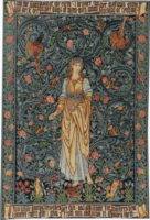 Flora wall tapestry - William Morris tapestries - Poems by the Way
