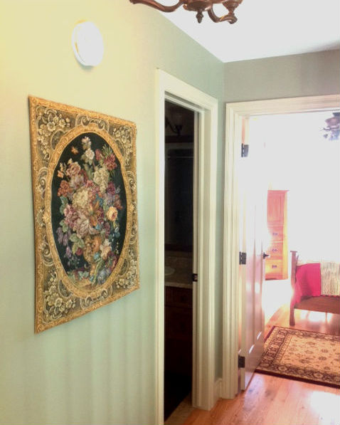 Floral Italian tapestry wallhanging