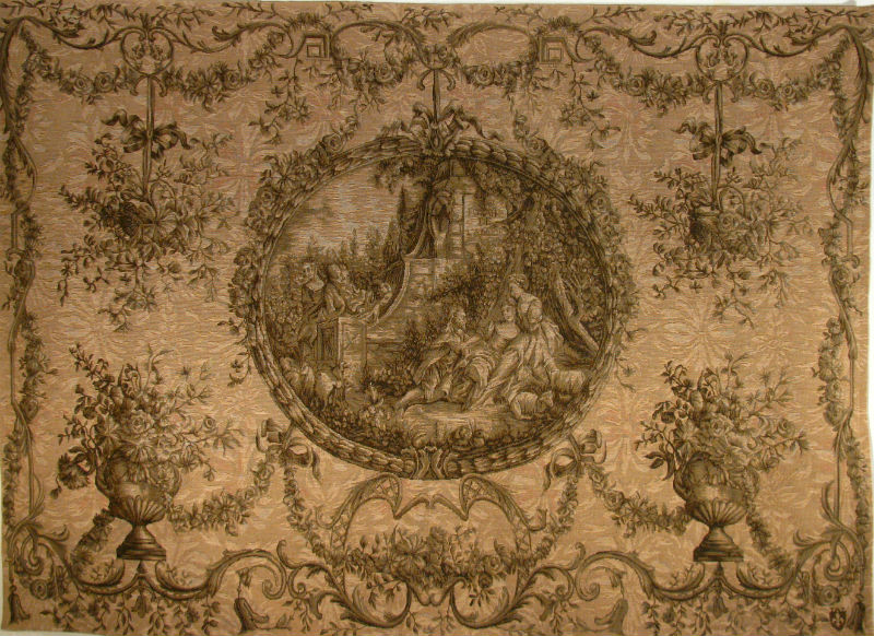 Fountain of Love tapestry - Francois Boucher wall tapestries
