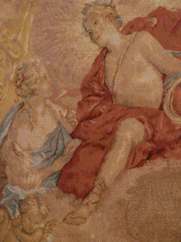 Francois Boucher Loves of the Gods tapestry