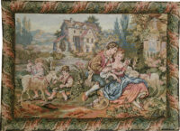 Francois Boucher Old Mill - Noble Pastorale tapestries