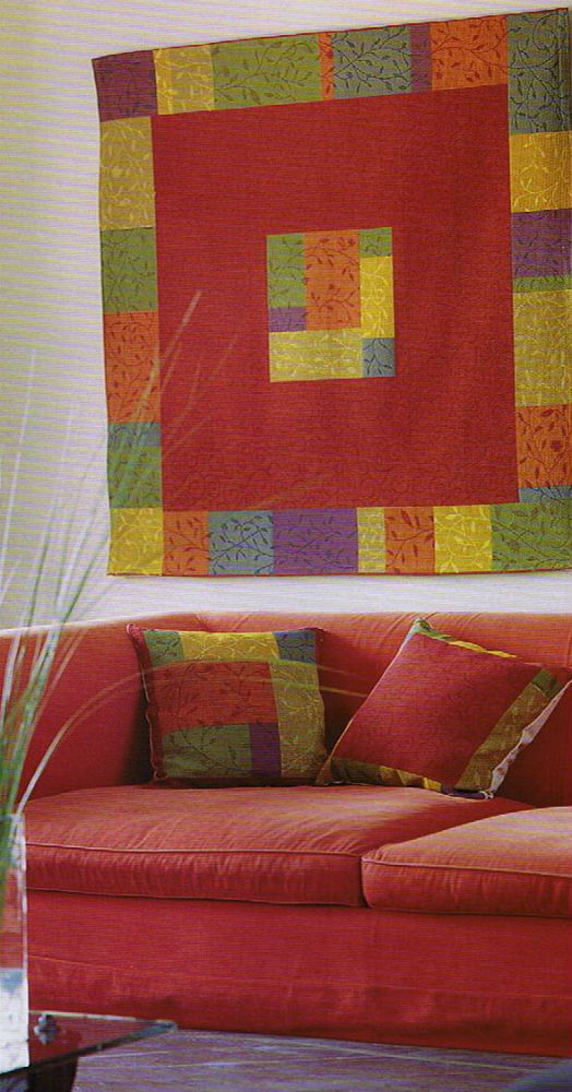 French tapestry weave for tablecloth