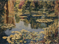 Giverny wall tapestry - Belgian tapestry wall-hanging