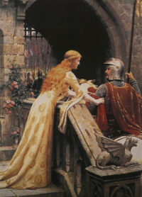 God Speed tapestry - Edmund Blair Leighton tapestries