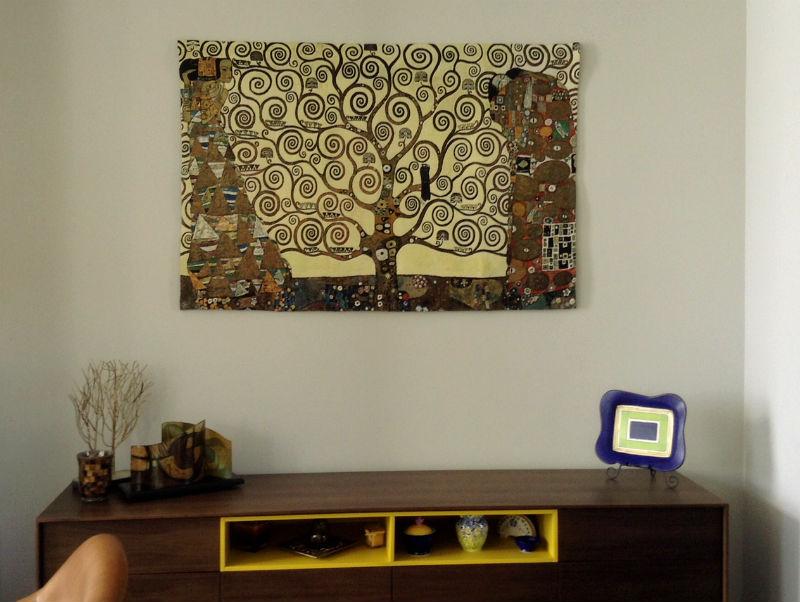Gustav Klimt Stoclet Frieze tapestry