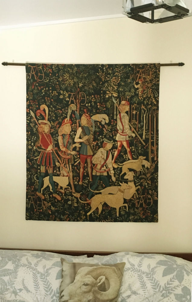 Hunt - Amour Eternelle tapestry - The Unicorn Tapestries