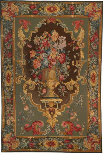 Imperial Bouquet tapestry - French tapestry wall-hanging