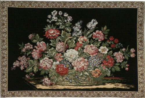 Jacquard Bouquet tapestry - discontinued wall tapestries