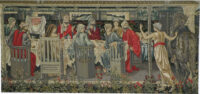 Knights of the Round Table tapestry - Burne-Jones - San Graal tapestries